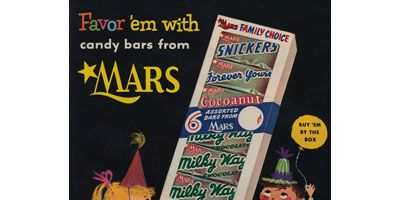 <p><b>Brand:</b> Forever Yours, Mars</p> <p><b>Year Launched:</b> 1936</p>  <p><b>What Made It Great:</b> Dark chocolate and nougat. This chewy, dark-chocolate-covered vanilla nougat bar lined with a layer of caramel was introduced as the Forever Yours Bar by Mars in 1936 and discontinued in 1979. With the news that dark chocolate has health benefits, the bar was reintroduced in 1989 as Milky Way Dark, and eventually renamed (in 2000) Milky Way Midnight bar. Mars executives, please keep it around!</p>