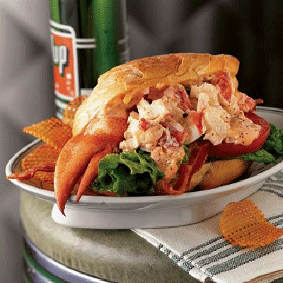 "<p>In Maine, chilled lobster salad tucked inside a toasted bun is a popular form of fast food. We've embellished the regional lobster roll by adding bacon, lettuce, and tomato. Try our <a href=""/recipefinder/lobster-salad-blt-3378"" target=""_blank""><b>Lobster-Salad BLT</b></a> with <a href=""/recipefinder/rosetta-sauce-3976"" target=""_blank""><b>Rosetta Sauce</b></a>.</p>"
