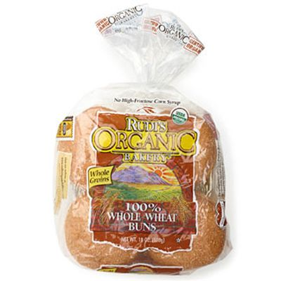 "<p>Tasters appreciated these buns for their ""real whole-wheat flavor."" While some found these buns a bit dense, most enjoyed their ""pleasantly hearty"" heft. <i>$4.39/package of 8; 160 calories per serving</i></p><br /> Fill this bun with a <a href=""/recipefinder/chipotle-nacho-burger-recipe"" target=""_blank""><b>Chipotle Nacho Burger</b></a>."