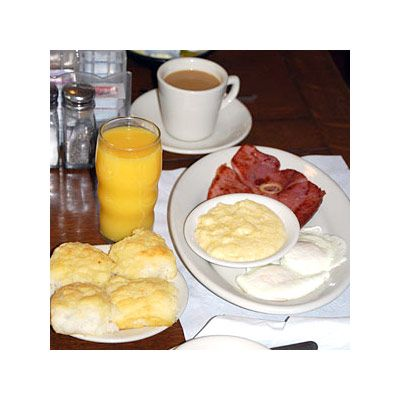 <p>The lines are long, and the service is perpetually overwhelmed, but the Waysider offers a subtle red-eye gravy and the most straight-up cheese grits in the free world.</p><br /><p><i>1512 Greensboro Avenue&#x3B; 205-345-8239</i></p>
