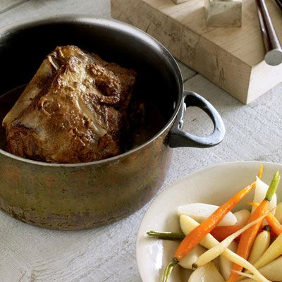 "<p>Braised lamb shoulder with root vegetables is an elegant take on mutton stew.</p><br /> <p><b>Recipes: </b><a href=""/recipefinder/braised-lamb-shoulder-root-vegetables-recipe-opr0310"" target=""_blank""><b>Braised Lamb Shoulder with Root Vegetables</b></a></p>"