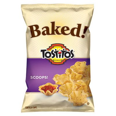 """Testers loved Baked Tostitos Scoops Tortilla Chips for their """"good balance of corn and salt flavor"""" and crispy texture. Many agreed that these """"taste like the real thing."""" ($3.80 for a 9-oz. bag)<br /><br />3 g fat, 0.5 g saturated fat, 120 calories per 1-oz. serving size<br /><br /><b>Dip in <a href=""""/recipefinder/easy-to-tackle-texas-caviar"""" target=""""_blank"""">Easy-to-Tackle Texas Caviar</a></b>"""