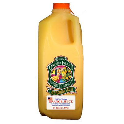 """This one trounced the competition with its """"fresh-squeezed"""" taste and """"just the right amount of pulp."""" It's no wonder one participant wrote that it """"tastes like a real orange"""": This brand contains nothing but 100 percent Florida orange juice — squeezed, then pasteurized and shipped (not frozen or stored). ($6 for 64 fl. oz.; <a href=""""http://www.oijc.com/"""" target=""""_blank"""">oijc.com</a>)<br /><br />110 calories per 8 oz. serving"""