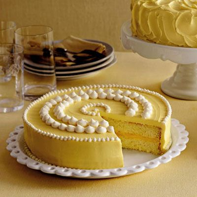 """<p>Beautifully decorated cakes and cupcakes thrill our senses before we have even taken the first bite.</p><br /><p>With their playful embellishments and cheerful colors, they hold the promise of delight and represent the perfect ending to a meal. Best of all, with our recipes and cake-decorating advice, creating your own special confections is simpler than you could imagine.</p><br /><p><b>Recipe:</b> <a href=""""/recipefinder/lemon-cake-clv"""" target=""""_blank""""><b>Lemon Cake</b></a></p>"""