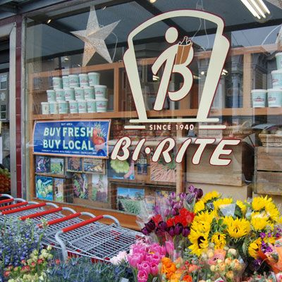 """<p>Sustainable and artisanal offerings are at the core of <a href=""""http://www.biritemarket.com/"""" target=""""_blank"""">Bi-Rite's</a> business. Their apples, tomatoes, peppers, figs, cucumbers, eggplants, are just a few of the vegetables and fruits they harvest from their own farms in Sonoma and Placerville, CA. The homegrown produce is not just displayed on the shelves, but also featured in the prepared foods that come out of the store's open kitchen. """"We put out hot foods every night,"""" says Kirsten Bourne, """"that are better than what you can find at most San Francisco restaurants.""""</p><br /><p><b>Not to be missed:</b> Bi-Rite's creamery across the street which sells irresistible small batch artisanal ice creams.</p>"""