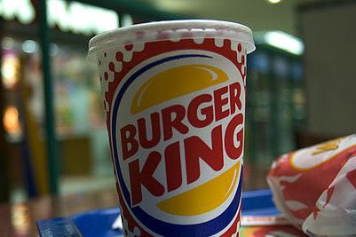 burger king cup