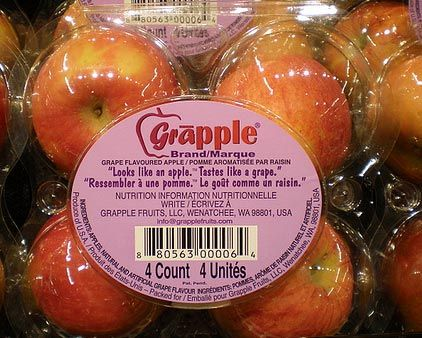 Grape Flavored Apples Grapples Hit The Market