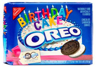 Remarkable Oreo Cookie Turns 100 Birthday Cake Cookie To Celebrate Oreos Personalised Birthday Cards Petedlily Jamesorg