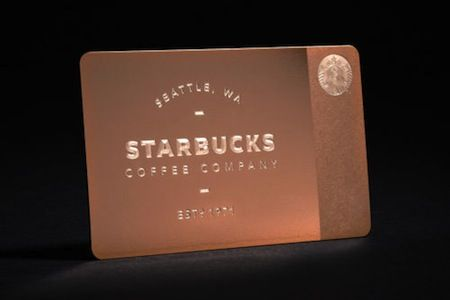 Starbucks rose gold gift cards sell out on gilt after mistake 450 starbucks rose gold gift card negle Gallery