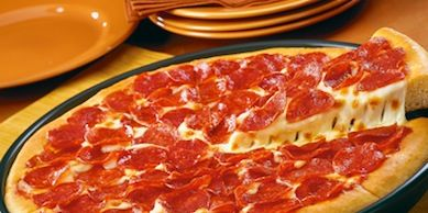 Pizza Tannenbaum.Pizza Hut Tests By The Slice Option Pizza Hut Single Slice Option