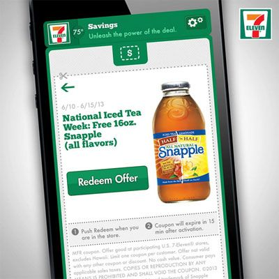 Free Snapple Iced Tea - 7-11 Giving Away Free Iced Tea