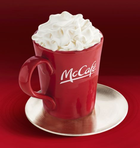 Mcdonald S White Chocolate Mocha New Mccafe Drink