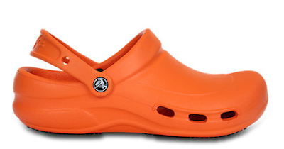 67b21dae66cb7 Mario Batali Learns Crocs Is Discontinuing Signature Orange Color - Mario  Batali Orders 200 Pairs of Orange Crocs