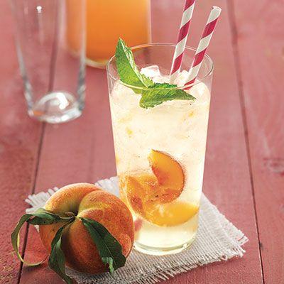 ginger peach soda