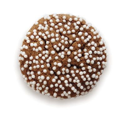 <p>Dotted with dainty nonpareils, these molasses-spiked morsels are stealth health sweets — no one will guess they're secretly made with whole wheat flour.</p>