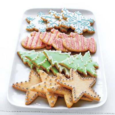 Sugar cookies are the ideal holiday cookie — they can be frosted and dressed up in countless ways to suit any occasion. You can make large batches to keep extras in your refrigerator or freezer until you're ready to decorate for a special occasion.