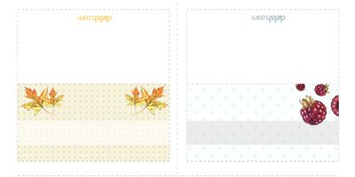 """<p>Full of fun and festive designs, this sheet of printable place cards is perfect for your next gathering, no matter what the theme. Mix and match however you'd like, whether it's based on the type of party you're throwing or the personality of your guests. It's a quick way to add a personalized touch.</p><br />  <p><a href=""""/cm/delish/printables/all_placecards.pdf"""" target=""""_new"""">Print this design!</a></p>"""