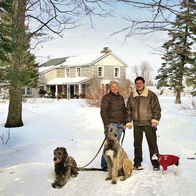 The homestead of the Wiesen family in Canada's Caledon Hills is a snow-blanketed magnet for warm holiday get-togethers. The owners, Pia and Stefan Wiesen, hail from Germany, where Christmas entertaining is a serious affair. A reminder of Pia's youth: the cuisine of the Saarland, Alsace, Lorraine, and Luxembourg. She's compiling a cookbook, <i>The Kitchen of the Four Little Lands,</i> on the region's culinary specialties. Needless to say, Pia's holiday guests are willing tasters of her chestnut-stuffed goose and <i>rotkraut</i> (red cabbage).