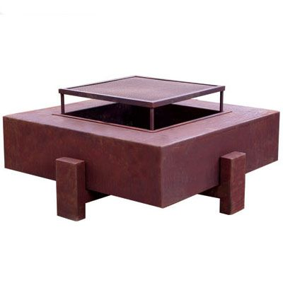 """NOW GET ALL FIRED UP!Not ready to commit to an inground fire pit? No digging is required with these portable, above-ground options. The screen and fire pan lift out of Ore's fire pit for easy cleaning.  <a href=""""http://www.orecontainers.com/""""target=""""_new"""">orecontainers.com</a>."""