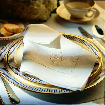 <p>Lacy or hemstitched edges also come front and center in this fold, so consider using it for any napkin with embellished edges.</p><br />