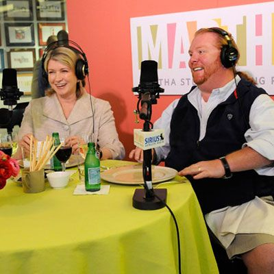 <p>Pals Martha Stewart and Mario Batali discuss the Iron Chef's favorite summertime spots in Italy on Martha's Sirius Radio show. Batali suggests hitting up Bologna and Modena in search of his favorite pizza laden with lardo (the back fat of the pig). Now that's good eatin'!</p>