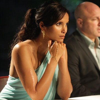 "<p>Bravo beauty Padma Lakshmi served as one of India's first supermodels before entering the food and entertainment world. Discovered by a modeling agent while sitting in (here's the culinary connection) a café, Lakshmi went on to appear in campaigns for Ralph Lauren, Roberto Cavalli, and other top designers.</p><br />   <p>Armed with a B.A. in Theater Arts from Clark University, Lakshmi appeared in several food shows before becoming host of Bravo's <em>Top Chef.</em> For the Food Network, she hosted <em>Padma's Passport</em> and the documentary series <em>Planet Food.</em> The model-turned-hostess has since penned two cookbooks, most recently <a href=""http://search.barnesandnoble.com/Tangy-Tart-Hot-and-Sweet/Padma-Lakshmi/e/9781602860063/?itm=1""target=""_new""><i>Tangy, Tart, Hot and Sweet: A World of Recipes for Every Day</i></a>, and shot to superstar TV food fame for her famous line, ""Please pack your knives and go."" We think this is way more iconic than Heidi Klum's ""Auf Wiedersehen!""</p>"