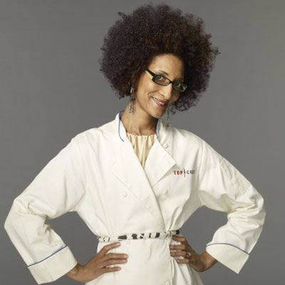 "<p>We haven't seen too many southern flavors making their way to the top of the <i>Top Chef</i> kitchen, but Carla Hall may just change all of that. Hall combines fine French training with her Tennessee roots to create upscale, soulful comfort food. The owner of <a href=""http://www.alchemycaterers.com/""target=""_new"">Alchemy Caterers</a>, Hall uses all the right buzzwords to describe her ingredients: organic, seasonal, and local.</p>"