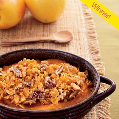 "<p>Indulge your guests with Michelle Croan's scrumptious, sweet and savory dish, winner of Quick & Simple's Tastiest Thanksgiving Recipe contest.</p><br />  <p><b>Recipe:</b> <a href=""/recipefinder/autumn-casserole"" target=""_blank""><b>Autumn Casserole</b></a></p>"