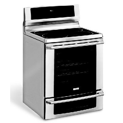 """This stove is for cooks who want every bell and whistle including a rangetop warming zone, a convection oven, and a second oven below the main one — all in a super-sleek-looking package. The state-of-the-art smooth glass touch control panel goes to """"sleep"""" when not in use, then wakes up when you press it with a fingertip. But it's not just a pretty face: It was our top scorer for cooking, baking, and ease of use. If you only roast a big bird for Thanksgiving and can't remember the cooking instructions from year to year, you'll love the """"perfect turkey"""" setting, which computes the time and temperature for you, and yes, it really works. Its broiler packs a punch, producing steaks worthy of an outdoor grill. Just keep in mind that you'll need time to become familiar with the myriad features and fancy control panel.  (<a href=""""http://www.electrolux.com"""" target=""""_blank"""">electrolux.com</a>)"""