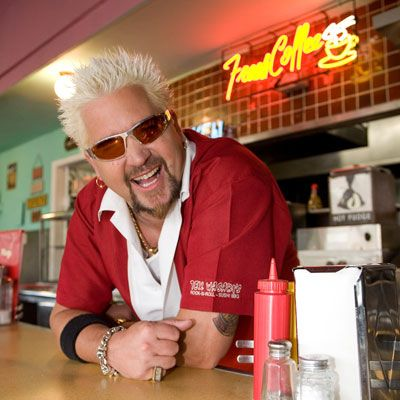 "<p><b>Day job:</b> Host of <a  href=""http://www.foodnetwork.com/guy-fieri-bio/bio/index.html""target=""_new""><b>three Food Network shows</b></a> and owner of <a  href=""http://www.texwasabis.com/""target=""_new""><b>Tex Wasabi's</b></a> and <a  href=""http://www.johnnygarlics.com/shopping.html""target=""_new""><b>Johnny Garlic's</b></a></p><br /> <p><b>What's cooking at home:</b> With a full house, Guy needs something easy to feed his wife and two boys. Of course, it has to pack a punch! Try his <a href=""http://www.delish.com/cooking-shows/celebrity-chefs/chorizo-spinach-chickpea-recipe ""target=""_new""><b>Chorizo, Spinach, and Chickpea Sauté</b></a>. Easy cleanup, since it's all in one pan!</p><br /><p>Want more? Check out <a  href=""http://www.delish.com/cooking-shows/celebrity-chefs/celebrity-chef-guy-fieri""target=""_new""><b>Guy's life at home</b></a>!</p>"