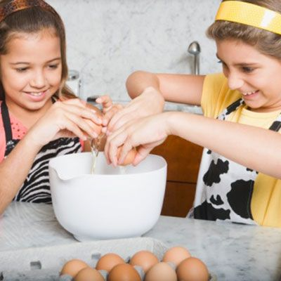 Your kids adore <i>Iron Chef, Top Chef,</i> and all the competition cooking shows. Bring the action home and host your own culinary showdown — for the younger crowd. We've got tips on how to transform your kitchen into your very own Kitchen Stadium. Ready, set, cook!