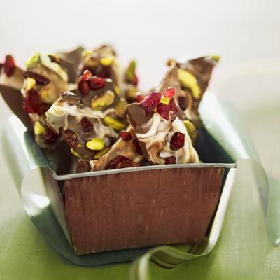 "<p>Make sure to note on the gift tag to keep this tart and nutty chocolate bark refrigerated until ready to enjoy, but not longer than one month for best flavor.</p><br /><br /><p><a href=""/recipefinder/pistachio-cherry-chocolate-bark-holiday"" target=""_blank""><b>Get this recipe!</b></a></p>"