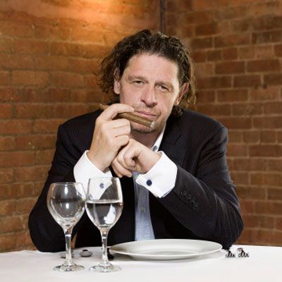 "<p>After years hosting the British version of <i>Hell's Kitchen,</i> Marco Pierre White takes his culinary credo to New York, where he challenges eight teams to compete on NBC's <a href=""http://www.nbc.com/chopping-block/"" target=""_blank""><b><i>The Chopping Block</i></b></a>. Each week the teams go head-to-head in a restaurant showdown, vying for the cash prize and a chance at opening their very own concept. Given they are under the watch of one of the world's most infamous chefs, let's just say this won't be a cakewalk.</p>"