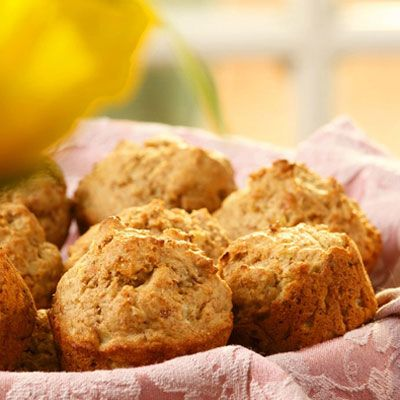 "<p>Chopped onion caramelized in butter gives these muffins a sweet and savory flavor. The prosciutto adds a hit of salt and richness. Serrano ham or other cured ham can be used in place of the prosciutto, if preferred.</p><br /> <p><b>Recipe: </b><a href=""/recipefinder/savory-prosciutto-muffins-recipe"" target=""_blank""><b>Savory Prosciutto Muffins</b></a></p>"