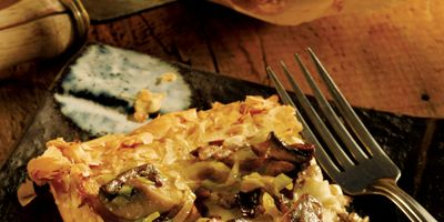 "<p>Earthy mushrooms need no wand to magically make a meatless meal a showstopper. Call on an Italian Valpolicella Reserva or a Spanish Rioja Reserva to fill the supporting role.</p><br /> <p><b>Pictured Recipe: </b><a href=""http://www.delish.com/recipefinder/rustic-mushroom-tart-recipe-9846"" target=""_blank""><b>Rustic Mushroom Tart</b></a></p> <p><b>More Ideas for Mushrooms:</b><br /> <a href=""http://www.delish.com/recipefinder/baked-polenta-mushrooms-recipe-8330"" target=""_blank""><b>Baked Polenta with Mushrooms</b></a> and <a href=""http://www.delish.com/recipefinder/warm-portobello-mushroom-potato-salad-recipe-8245"" target=""_blank""><b>Warm Portobello Mushroom and Potato Salad</b></a></p>  <b>Try These Bottles:</b> Recioto della Valpolicella Amarone and La Rioja Alta Roja Reserva"
