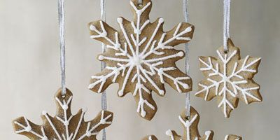 """These snowflake cookies are perfect for the holiday season. Make them with your kids for a homemade touch on your Christmas tree. They also look beautiful on the dessert table and work well as a hostess gift!<br /><br /><b>Recipe: <a href=""""/recipefinder/sugar-spice-snowflakes-cookies"""" target=""""_blank"""">Sugar and Spice Snowflakes</a></b>"""