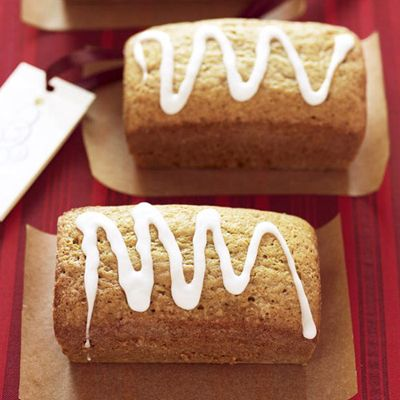 "<p>Chai spice tastes great in your tea mug and even better in these moist and tender loaf cakes. Bake these do-ahead gifts up to three months ahead — just cool them, wrap tightly in foil, and freeze. When ready to share, thaw at room temperature, unwrapped (to prevent condensation from building up inside the foil), and gift wrap as desired. If you don't have mini loaf pans, you can find the disposable aluminum ones in your supermarket. </p><br /> <p><b>Recipe: </b><a href=""/recipefinder/chai-spiced-tea-loaves-recipes"" target=""_blank""><b>Chai-Spiced Tea Loaves</b></a></p>"