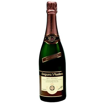 <p>Our top choice, this reserve bubbly is full-bodied and rich-tasting, yet still crisp and clean. Like all Spanish cavas, it's aged in the bottle for maximum flavor.</p>