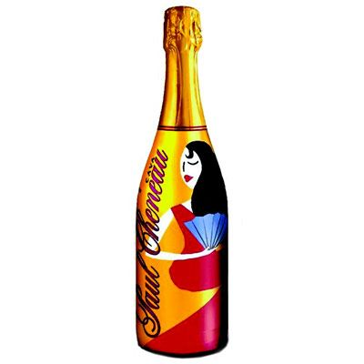 <p>We picked it up for the distinctive label but fell in love with its toasty, nutty blend of three Spanish grape varietals from the Penedès region. </p>