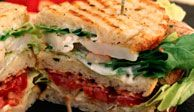 "<p><b>Wolfgang's Irresistible Recipe:</b> <a href=""/recipefinder/wolfgang-puck-shrimp-blt-recipe"" target=""_blank"">Shrimp BLT</a></p><p><b>Wolfgang's Fresh Twist:</b> Seafood. ""Believe it or not, the first time I started doing this was when I was designing my panini grill. I tried out many different recipes and one day, I thought, 'Why not put shrimp or lobster in a sandwich?' The BLT started as a lobster BLT, but since shrimp is less expensive, more available, and just as tasty, I thought it would be a good combination.""</p>"