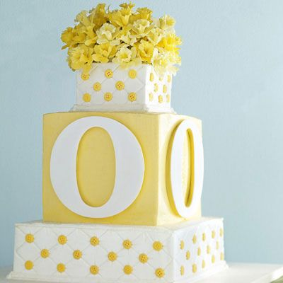 "<p>No mere whim prompted Sylvia Weinstock to top her angel food cake with an explosion of sugar daffodils. ""Daffodils are the 10th-anniversary flower,"" says the meticulous sugar artist. ""And yellow is one of my happy colors."" Weinstock iced the layers with lime, coconut, and blood orange buttercreams — ""flavors that sing out to you,"" she says.</p><br />