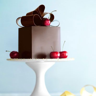 "<p>As the White House pastry chef, Bill Yosses creates both everyday sweets for the First Family and elaborate desserts served at state dinners. For <i>O</i> he made a Black Forest cake in a chocolate box, ""a very modern dessert with classic underpinnings — dark chocolate cake, cherries, whipped cream,"" he says. He swapped in some whole grain pastry flour and used omega-3-rich almond oil instead of butter, explaining, ""I often make healthy substitutions now because I'm taking care of the Obama family.""</p><br />