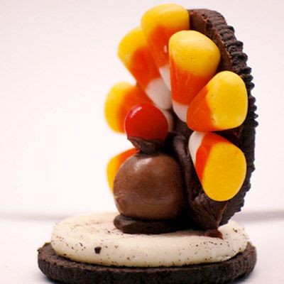 <b>Vital Components:</b> Whoppers malted milk ball head, Oreo cookie body, and candy corn feathers.