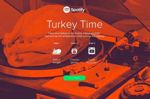spotify turkey timer