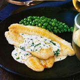 sole with lemon cream