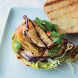 grilled eggplant tortas