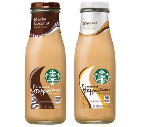 Bottled Smores Frappuccino Starbucks Frappuccinos