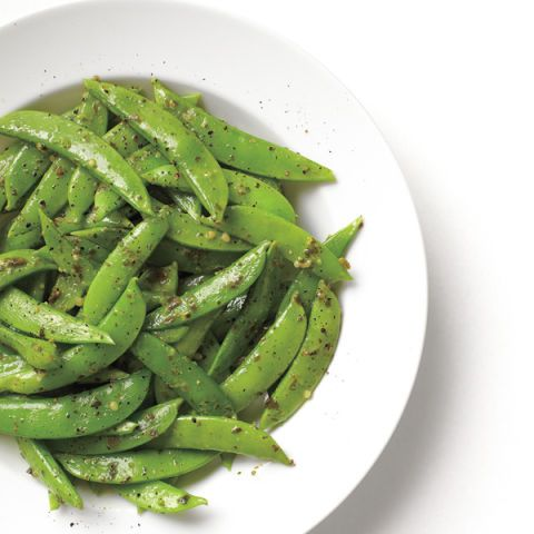 "<p>Basil pesto goes just as well on fresh, vibrant spring veggies as it does on pasta, roasted potatoes, or steak.</p> <p><strong>Recipe: <a href=""http://www.delish.com/recipefinder/pesto-snap-peas-recipe-mslo0514"" target=""_blank"">Pesto Snap Peas</a></strong></p>"