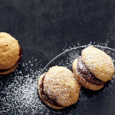 "<p>Pumpkin puree is sold year-round, a clear indication that you should feel free to enjoy these sweet treats whenever the mood strikes — even if that's July.</p> <p><strong>Recipe: <a href=""http://www.delish.com/recipefinder/pumpkin-chocolate-whoopie-pies-recipe-mslo0514"" target=""_blank"">Pumpkin-Chocolate Whoopie Pies</a></strong></p>"