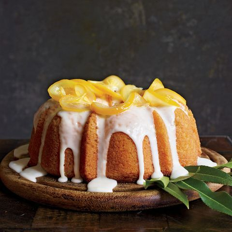 "<p>This cake can also be baked in an 8-inch cake or springform pan. The baking time is the same.</p> <p><b>Recipe: <a href=""http://www.delish.com/recipefinder/meyer-lemon-yogurt-cake-recipe-mslo0314""> Meyer Lemon-Yogurt Cake</a></b></p>"